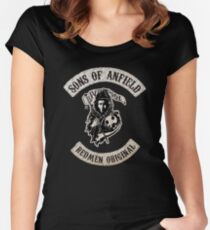 Sons of Anfield - Redmen Original Women's Fitted Scoop T-Shirt