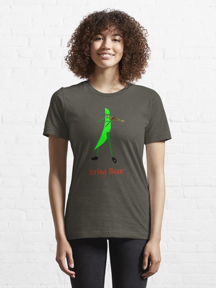 Alternate view of String Bean Essential T-Shirt