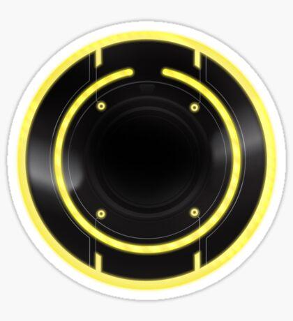 TRon Legacy - Clu's ID Disc Sticker