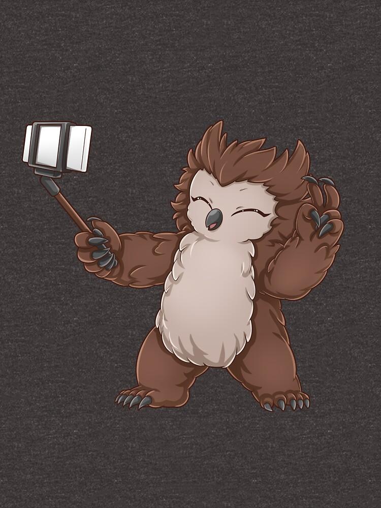 Insta selfie owlbear by GeekNative