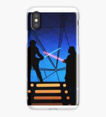 STAR WARS! Luke vs Darth Vader  iPhone Case