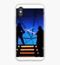 STAR WARS! Luke vs Darth Vader  iPhone Case