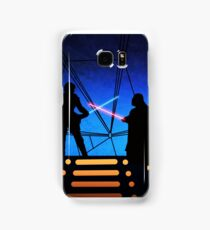 STAR WARS! Luke vs Darth Vader  Samsung Galaxy Case/Skin