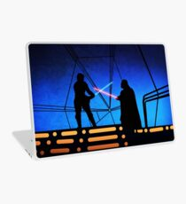 STAR WARS! Luke vs Darth Vader  Laptop Skin