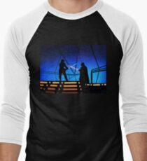 STAR WARS! Luke vs Darth Vader  Men's Baseball ¾ T-Shirt