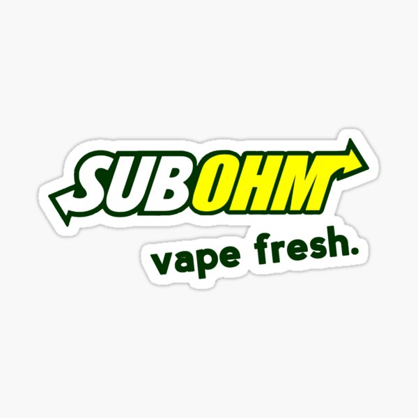 Vape Fresh Sticker