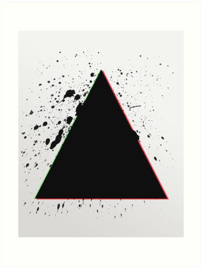 Triangle Splatters by PatiDesigns