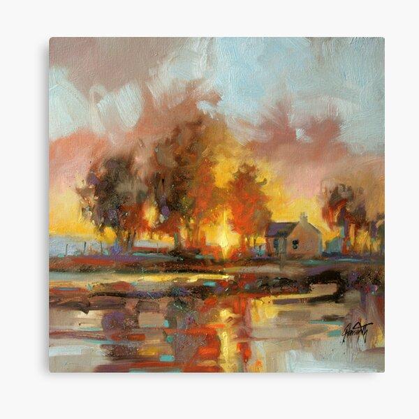 Heridean Trees Canvas Print