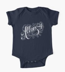 Allons-y! Short Sleeve Baby One-Piece