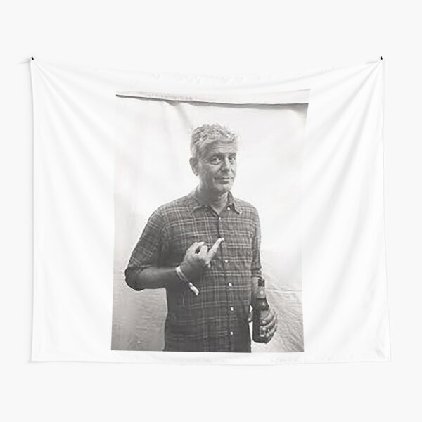 Thank you Anthony Bourdain Tapestry
