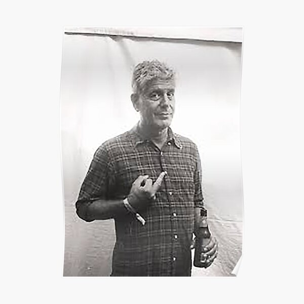 Thank you Anthony Bourdain Poster