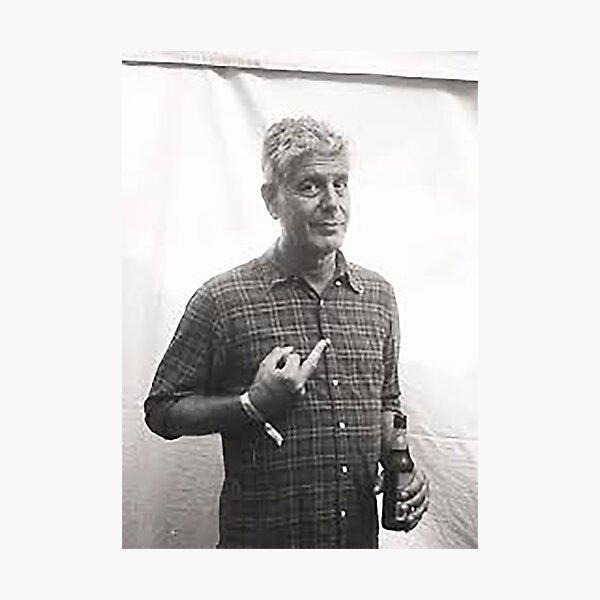 Thank you Anthony Bourdain Photographic Print