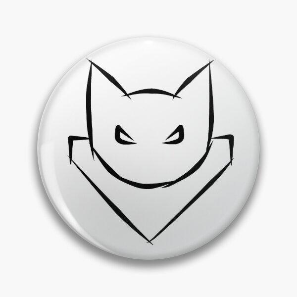 Cat Commander Tag Pin