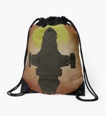 I'm a leaf on the wind - Firefly / serenity  Drawstring Bag