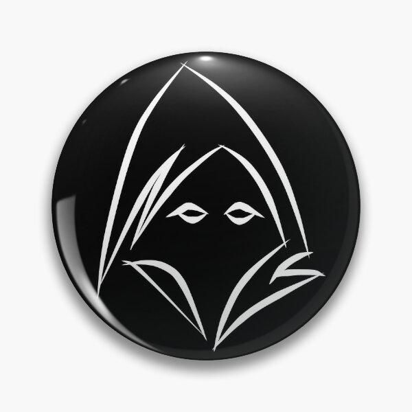 Reaper (white) Pin