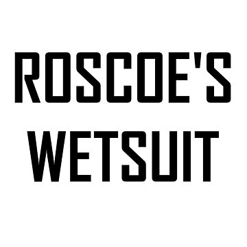 Roscoe's Wetsuit Black by designs-by-jess