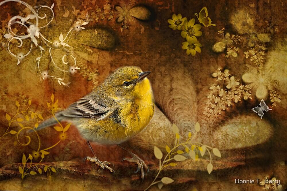 Warbler in Wonderland by Bonnie T.  Barry
