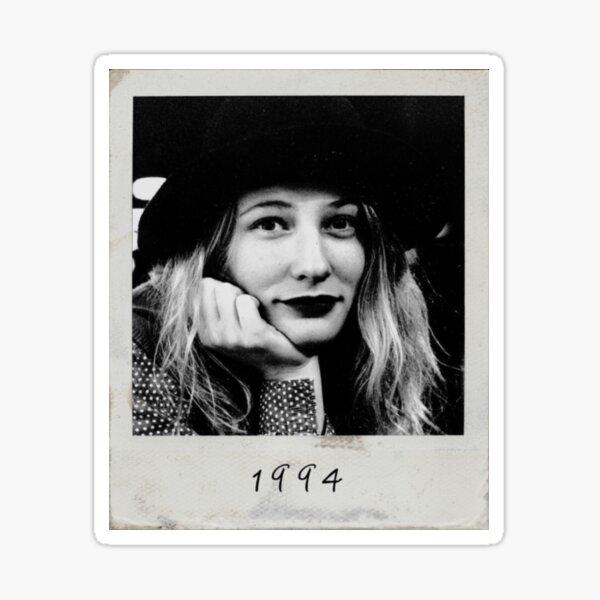 cate blanchett 1994 polaroid Sticker