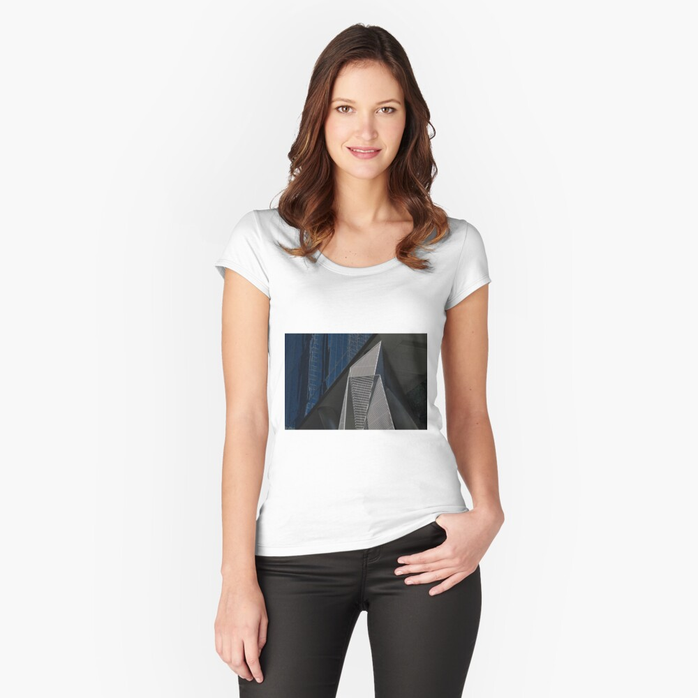 Angles Women's Fitted Scoop T-Shirt Front