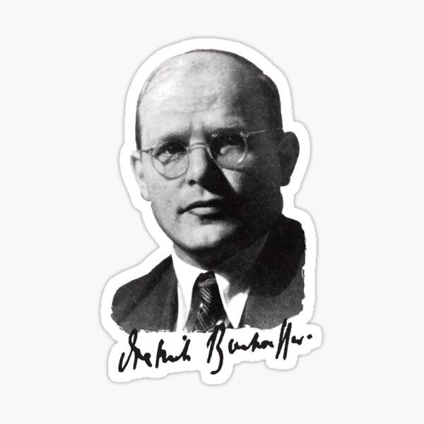 Dietrich Bonhoeffer Portrait Sticker