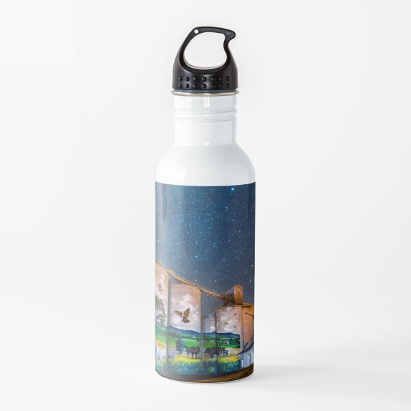 Grenfell Silo Art Water Bottle