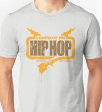 I Grew Up On Hip-Hop: Logo #1 Unisex T-Shirt