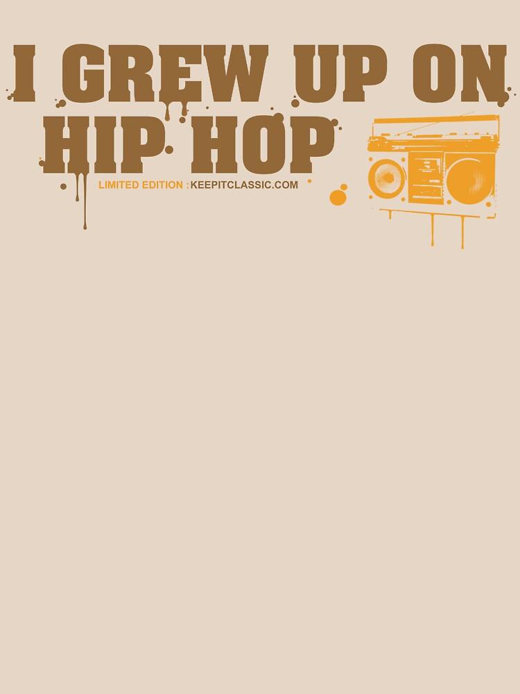 I Grew Up On Hip-Hop: Original Logo | Unisex T-Shirt