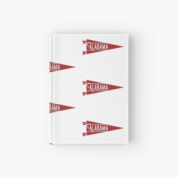 Alabama Pennant Hardcover Journal