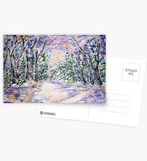 WINTERLAND  Postcards