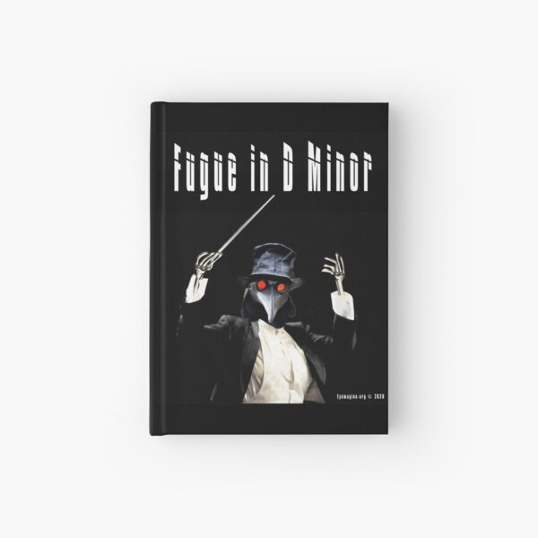 Fugue in D Minor Hardcover Journal