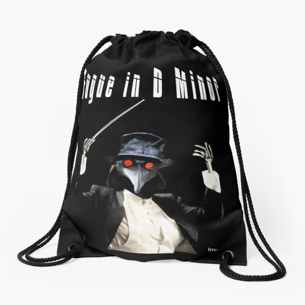 Fugue in D Minor Drawstring Bag