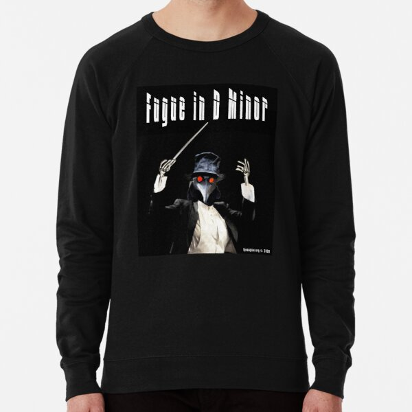 Fugue in D Minor Lightweight Sweatshirt