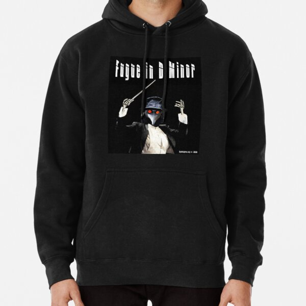 Fugue in D Minor Pullover Hoodie