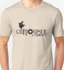 Curiouser & Curiouser Alice in Wonderland Shirt Slim Fit T-Shirt