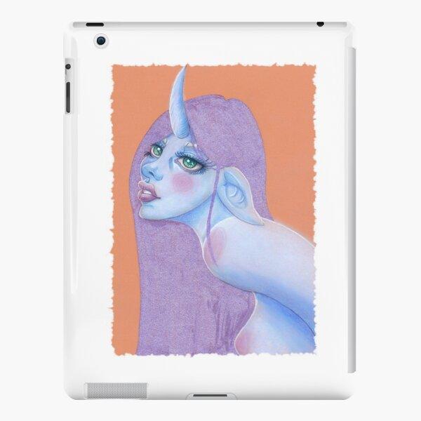 pastel unicorn girl iPad Snap Case