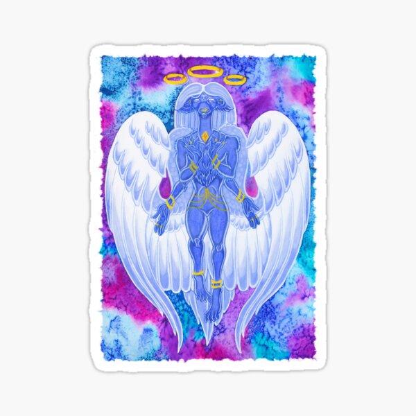 divine beast dragon watercolour Sticker