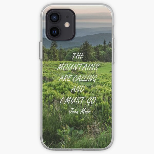 Mountains are calling 3 iPhone Soft Case