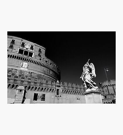 Rome - Castel Sant'Angelo Photographic Print
