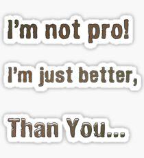 Slogan Sticker