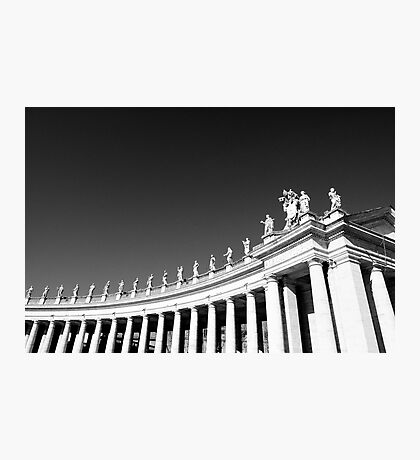Rome - S.Pietro columns Photographic Print