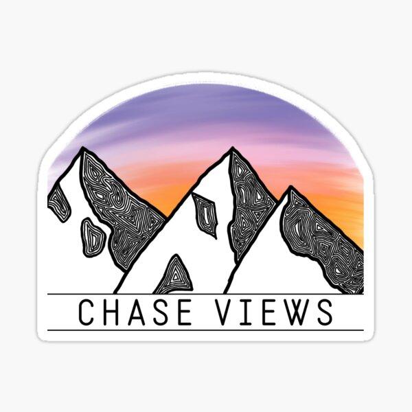 chase views Sticker