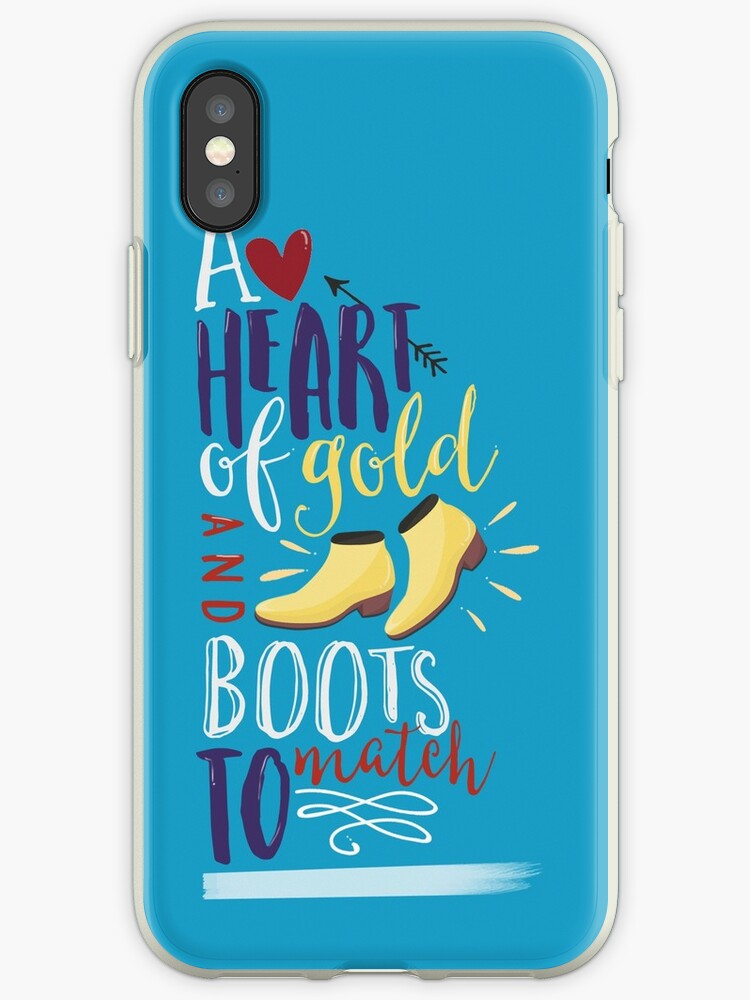 Heart of Gold & Boots to Match by tashalmighty