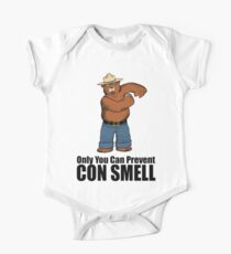 Only You Can Prevent Con Smell One Piece - Short Sleeve