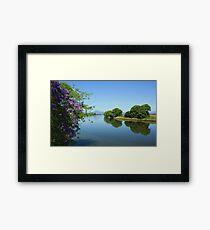 tweed river ... Framed Print