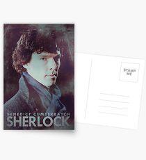 BBC Sherlock Poster & Prints (Benedict Cumberbatch) Postcards