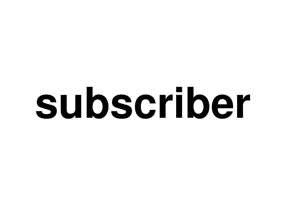 subscriber by ninov94