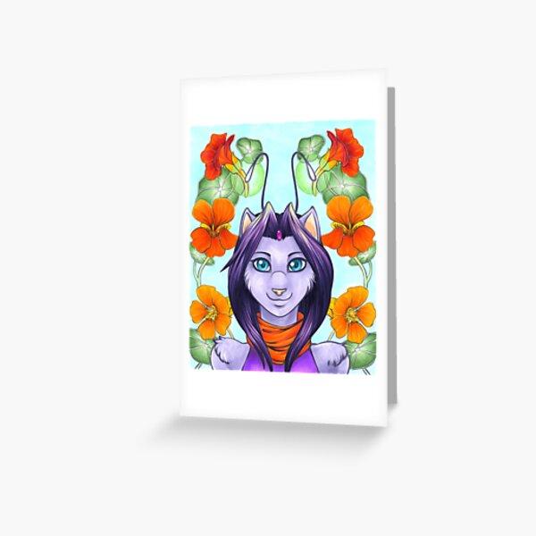 Fey Kitty Greeting Card