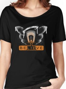 be LIE ve in science Women's Relaxed Fit T-Shirt