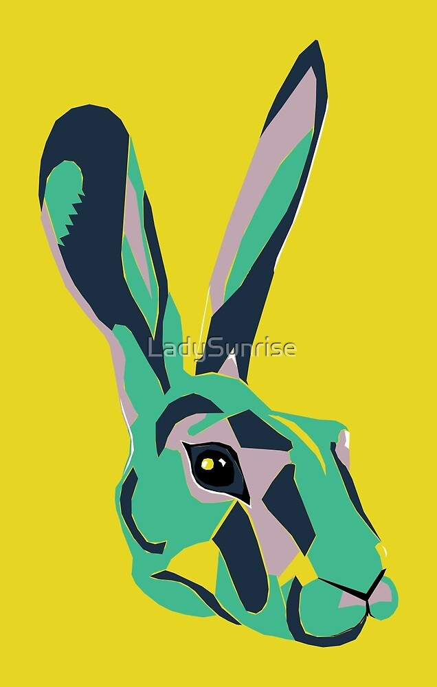 Mr Hare in Yellow by LadySunrise