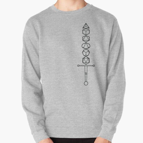 Choose Your Weapon - Dark Dice Sword Pullover Sweatshirt